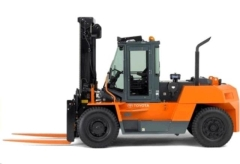 Rental store for Fork Truck, IC Pneumatic, 22K-LB, Diesel in Middletown CT
