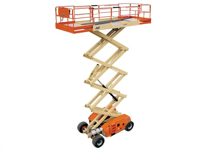 Rent Scissor Lifts - Rough Terrain